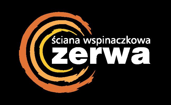 Logotyp ściana wspinaczkowa ZERWA