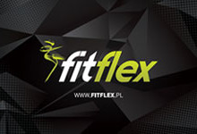 Karta z logiem fitflex